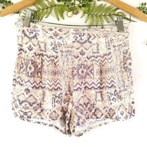 🌼FOREVER 21《A4》Aztec print shorts